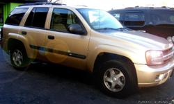 2004 Chevy Trail Blazer 4X4, RUNS AND DRIVES LIKE NEW !!!! NO MECHANICAL PROBLEMS AT ALL !!!! Automatic Transmission, Gas Engine v6 GREAT ON GAS, No oil leaks Asking only $5,300.00 with Low miles only 105,xxx Extra clean tan Interior and