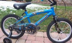 Nearly new and ready for Santa in time for Christmas. Lill' Daggaer, VAPORIZER,boys bike with training wheels. Only riden once. Is in mint condition!