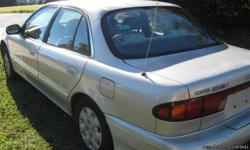 Clean 1995 Sonata that has been maintained and has had many new parts. New water pump less than a year ago, new timing belt, and new plug wires, newer tires, new cv joints about a year ago. 4 Dr -anti lock brakes, drivers side air bag, 5-speed- A/C neds