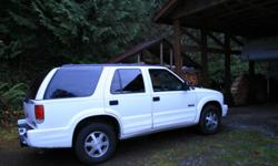 2001 Oldsmobile bravada 108000 miles, heater needs fixed but car in excellent shape:)
