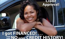 Bad Credit??? No one will work with you??? WE WILL!!! GUARANTEED CREDIT APPROVAL!!! Give me 15 minutes and I will get you approved!!! Bank Financing!!! We report to the CREDIT AGENCIES!!! YOU ARE APPROVED WITH US GUARANTEED OR $1000 CASH!!! If you earn