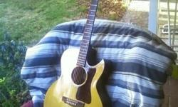 Guild G-25 model - 1980s acoustic guitar - spruce top - mahogany back and sides - good clean shape - Joseph 310 462 4837