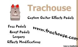 Please visit my website for guitar effects pedals. EBAY to BUY__Or __Trachouse Pedals to buy