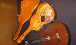 $150 obo for aBill Lewis rock-classical, from Vancouver, BC [in ahard case withextras],and $65 obo for a small-body Jose Mas y Mas, Valencia Flamenco-type, made in Spain [in a cloth case]