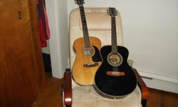 The Hondo (black one) is in very good condition The Conn needs bridge work If interested call me 513-922-0391