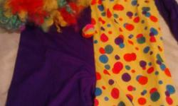 Halloween costumes for sale. Different sizes Will sell all or separately Lady bug sz 8/10 girls Snow White lg girls Clown lg child Batman cape med child Dark angel med Glitter Witch sm child 5/6 I wil accept 20.00 for all costumes or 5.00 each