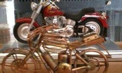 handmade folk art motorcycles