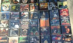 THIS IS A GREAT CD LOT 60 CDS COMPLETE WITH FRONT AND BACK INSERTS RARE HARD TO FIND: GUTTA,TONY GUNN,BOSS PLAYERS,TRICK TRICK,SOOPAFLY,CAP 1,G-CHILD,A.S.1,LIL B,SHORT DAWG,THE SESSIONS 1& 2,VICK VENOM,BLACK MAFIA,DIPPY STYLEZ,SIR JINK,SERV-ON,THUG NUT,8
