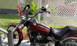 This is a much see 2002 Harley Soft tail duce...with ONLY 17,000 miles ...HARDLY used ...asking $9995.00 or BEST OFFER....
