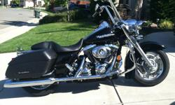 I am selling my 2007 Harley Davidson FLHRS Road King Custom Motorcycle. I bought this bike new from Auburn Harley in 2007. I have put only 3500 miles on the bike. It is basically brand new. The bike is in excellent condition and ready to take a long ride.