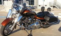 This Harley is a very unique piece of Harley Davidson's history. It has been a dream to own this bike but with a third baby on the way there will be no more time to ride. This Harley comes with the following options: 1) Gold CVO Key. 2) Original sissy