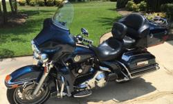 2004 FLHTCUI - Very clean and very low mileage (16,981 miles)! This is a great touring bike and extremely comfortable to ride. Screamin' Eagle exhaust, full dress, two helmets, intercom system, motorcycle cover, CD/radio stereo system with auxiliary