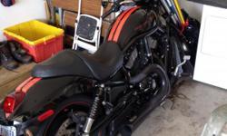 Black 2008 Harley Davidson V-Rod VRSCXA. 14,333 Miles. Like New.