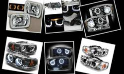 Brand new headlight projectors & diamond back   Available for almost every vehicle at a great price.   Call or text for pricing and availability () - Gabriel Hablo Espanol  Keyword acura tail lights, audi tail lights,