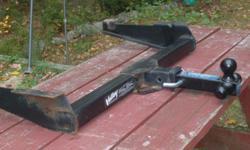 """Heavy Duty Tow Bar, 2"""" Reciever & tri- ball Hitch $125 b.o. Heavy Duty Ladder Racks For Full Size Van $95 b.o. 561-688-4087"""