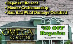HERE TO FIX THAT ROOF LEAK SAME DAY! WE DO FREE ESTIMATES/ INSPECTIONS