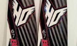 """* These Skis are in Perfect Mint Condition!!* Skis are NEW, Never used. MSRP of $200. Selling for $165. Features: *Wide combo shape for easy deep water starts. *Front half of skis are a bit wider to help """"POP* out of water. *V- Bottom for stable"""