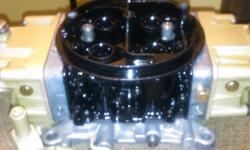 This is a factory built holley 850 Dp annular discharge in excellent condition with newly installed blue gaskets. Its ready to run. Annular discharge is what all the big dogs like NASCAR and people that know the differrence . You will gain 20+ HP an TQ an