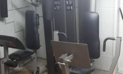 Up for sale is our proform complete home gym...This system has it all.  2 people can work out at 1 time, see the pictures for everything it does....it is too much to list. this system is complete with all of it's original parts, (the user's manual is