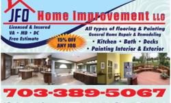 Home Improvemet Welcome to JFO Home Improvement there you get best quality and price. We as Home Improvent service areobligacion is to satified our customer. Painting Kitchen Remodeling Bathroom Remodeling Roof