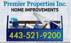 SUMMER SPECIAL - $150 off any interior paint job of $600 or more! Is your home in need of some TLC or just need a fresh new look? Premier Properties Inc. is available to perform a multitude of services to enhance your home and add value. Services