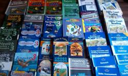 Hi. This is for all the 3rd grade materials you see in the photos plus a few extras. I started homeschooling my grandson in Feb of this year and it has helped him a great deal. Most of this curriculum is Abeka except for the reading