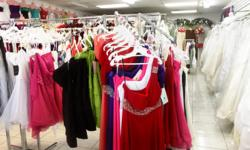 We are a one stop shop formal wear, wedding, prom, homecoming, first communion, etc........