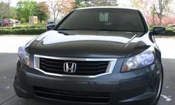 Honda Accord, Auto, itecV4, 2.4Lit, 26 /34 MPG Miles: 106K, 5-Star certification, Clear Title Features: 268 HP, Front Heated Leather Seats, Cruise Control, Air Conditioning, Power- Doors, Locks, Windows, Seats, Mirrors and Rear mirror