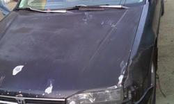 Black honda 93 runs good needs body work done tags are good reliable
