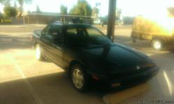 ******1991 HONDA PRELUDE******* CLEAN INTERIOR, SUN ROOF, COLD WORKING A/C, ORIGINAL RIMS, TIRES HAVE LITTLE MILES ON THEM, EXTERIOR A LITTLE RUFF BUT NO DENTS, MANUAL TRANSMISSION, MILES 221518.  PLEASE CONTACT - CINDY --