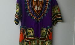 We sell Dashikis in one size fits all, king size, Hooded Dashikis in small, medium, large & XL, as well as Men Shirt Dashikis with the American Collar.. We have several colors. We are open 7 days a week from 10:30 am to 8:00 pm. Medinah Islamic