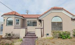 Perfect for First Time Home Buyers! Remodeled Spanish Style home consists of 2 bedrooms, 1 bath with formal living room and dining area with crown moldings. Remodeled open concept kitchen with granite counter tops, new cabinets and new tile. Full