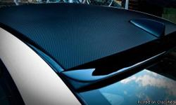 """**HUGE BLOWOUT SALE ON CARBON FIBER** ORIGINAL PRICE WAS $300 NOW $79.00** Measurement: 60"""" X 51"""" Colors: Carbon Antrozite and Carbon Silver This is a high end vinyl that can be installed on all sorts of surfaces, regardless of the curvature. This means"""