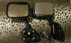 Hummer h2 electric side mirror's and heated crome
