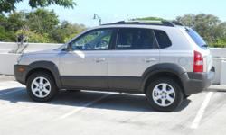 2005 Hyundai Tucson GLS (V6, 4WD), only 43,000 miles! Single car owner, never been in an accident, no smoking or pets/kids in the car. Silver exterior, grey interior. Car is in GREAT CONDITION! For serious inquiries (local only), please call or email to