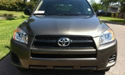 I am Selling My 2010 Toyota Rav4 4X4 Sport, ONE OWNER, NON-SMOKER, All Maintenance & Services are Up-to-Date.Fuel Efficient. Toyota has a reliable reputation, impeccable quality, and has strong resale values. The Rav4 is a Compact SUV that combines a