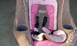2 Graco My Ride 65 Convertible Car Seats for sale. Both are light tan and pink, clean and ready for use. Call -- for details or best offer. Located in Bruceton Mills.