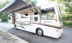 Incredible 8,000 Mile 2013 Thor Motor Coach Palazzo Diesel Pusher. Model 33.2. Make sure you see all the photos of this beautiful luxury Motorhome. You want to spoil yourself entirely, this is your RV to do just that with. This highly sought after Diesel