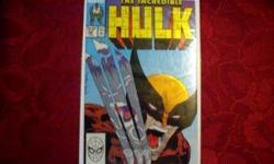 *INCREDIBLE HULK #340*WOLVERINE vs HULK*Near Mint*CLASSIC*COLLECTIBLEif you still see this add then I do have it. i will remove it once it is sold $60 OR Best Offer or Barter. I AM LOOKING FOR A NEW SIDE KICK 3 or a Nice Digital Camera or something else