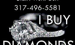 We buy most cuts and sizes of diamonds and we are able to offer some of the highest prices for loose diamonds, diamond rings and other diamond jewelry. In some cases we can give you a quote over the phone for your precious diamond if you have