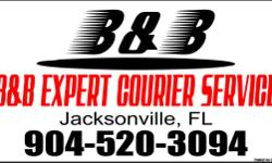 We deliver everything froma piece of Mail to Pallets of goods and more! If you need it delivered, Please give us a call (904) 520-3094! B&B EXPERT COURIER SERVICE - Licensed and Insured Call and ask for 'B' (904) 520-3094 Tell us what you want to