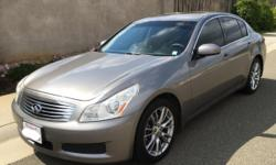 Infiniti G35 120,000 miles 4 door automatic Black interior, push to start with button locks on outside door handles, limo tint with windshield eyebrow, back up camera, sun roof, navigation, heated seats, ac blows cold. Its a fabulous car and fun to drive!