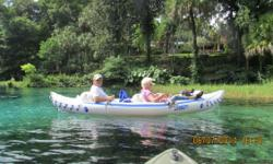 Model Seaeagle 330 comes with seats, paddles, pump, life vests, carry bag, and dolly. Used only a few times. Like new.