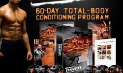 **BRAND NEW** & SEALED INSANITY WORKOUT PROGRAM 10 DVD set. All Guides (Elite Nutrition Plan). 60 Day Calender. 3 Bonus DVDS. No Equipment Needed .
