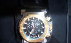 THISLIKE NEW WATCH THAT CAME FROM A STORAGE UNET ITS ALL THARE WITH TWO WATCH BANDSTAKE A LOOK THEN CALL ME CHRIS AT 916-929-6919THIS FEELS LIKE IT WAIGHS A LOT & ITS BIG . CALL FAST THIS WILL GO FAST! 916-929-6919 & I OFFER FREE