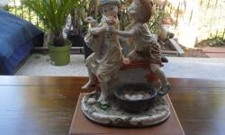 Beautiful Italian figurine. Excellent condition.