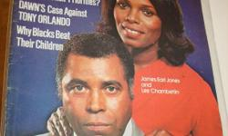 Amazing Jan 1980 Issue, w/James Earl Jones On Cover Of Black Memorabilia Mag ! Lots Of Pictures/Story Inside Of Black Americana+Dawn,Cameo,Ali !! Good Condition For It's Age !!! See All Our Rare/Nice Items Available Here & Also At