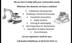 JDR is new to Billings but we are backed by decades of experience in residential, industrial and civil construction. We offer competitive rates and provide free estimates. Call us today for your next foundation, septic system, fencing or major