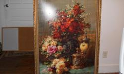 you can almost smell the flowers from this beautiful reproduction painting from non-otherbelgian painter JEAN BAPTIST ROBIEborn in 1821,he played a pivotal role in the evolution of flower painting, because of his amazing amount of details,he