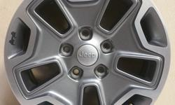 """NEW PULL OFFS!! JEEP 17"""" RUBICON HARD ROCK EDITION WHEELS!((($400))) HAVE TIRES OF YOUR CHOICE NEW OR USED IN STOCK FOR SALE!!!  ***WE ALSO HAVE IN STOCK NEW AND USED TAKE OFFS FOR CHEVY SILVERADO 1500,2500 HD, 3500,TAHOE, GMC SIERRA,YUKON, FORD"""